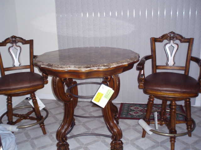 Moving Sale: Pub Table Set