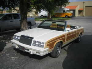 1983 Lebaron Town And Country (Chrysler)