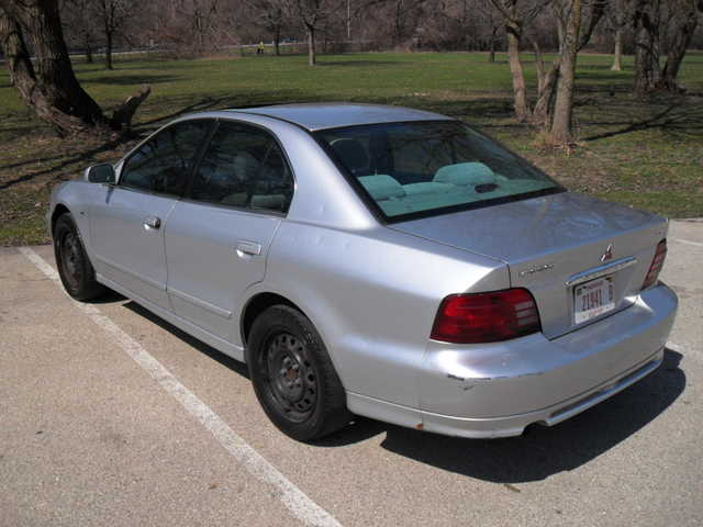 Recovered Theft 2001 Mitsubishi Galant Es