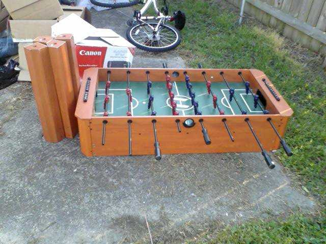 Miraculous Foosball Table For Sale 40 00 50 00 Used 45 Download Free Architecture Designs Scobabritishbridgeorg
