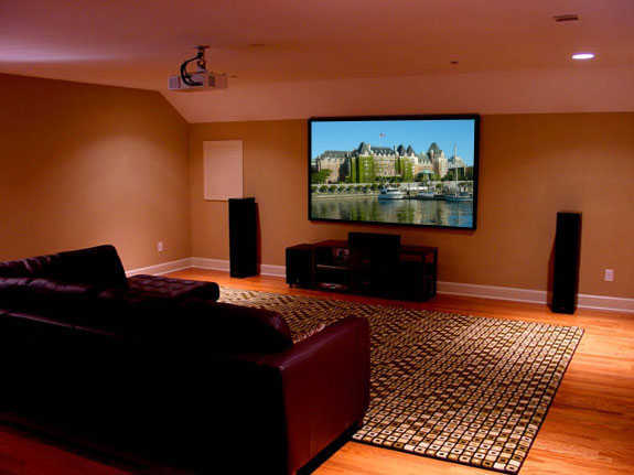Pc And Home Theater - Wall Mounting Services
