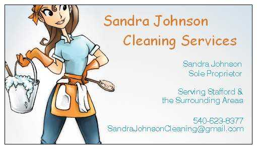 Sandra Johnson Cleaning Services - Licensed & Insured