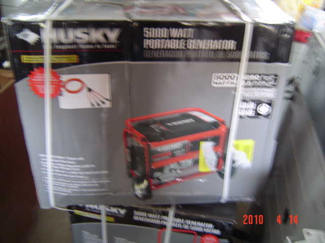 Husky Generator New Still In Box $500.00