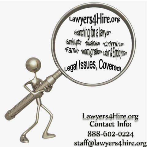 In Need Of A Lawyer?