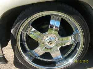 22 Inch 6 Lugs Chrome Rims