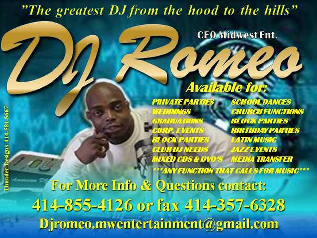 Dj Services Available