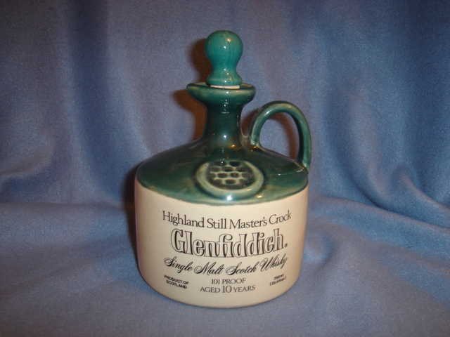 Glenfiddich Scotch Crock Jug