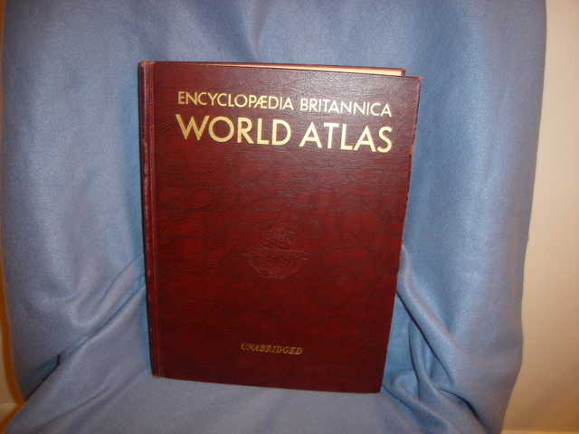 1957 Encyclopedia World Atlas