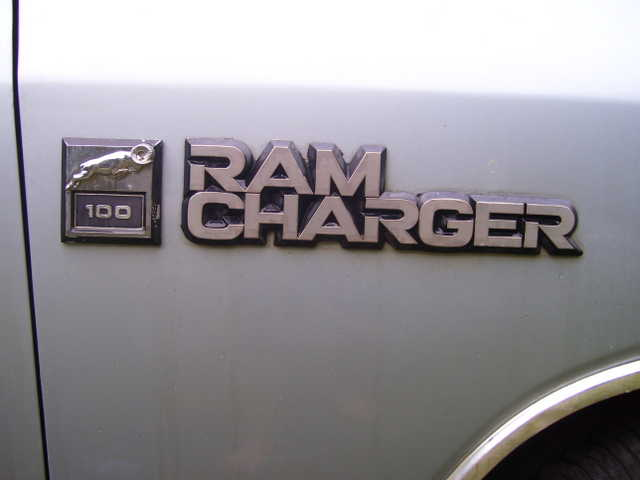 1989 Dodge Ram Charger 100
