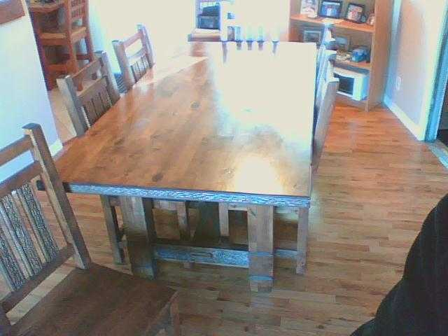 Ernest Thompson Dining Table And 6 Chairs