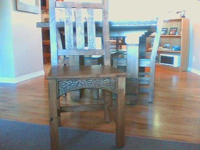 Ernest Thompson Dining Table And 6, Used Ernest Thompson Furniture