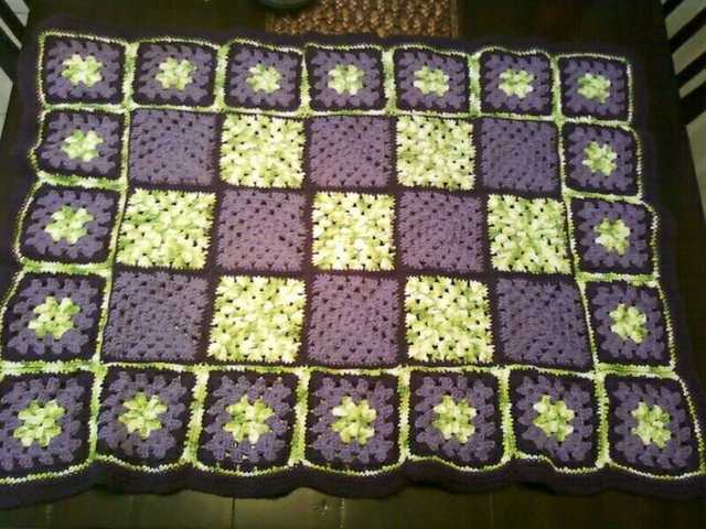 Custom Crocheted Blankets