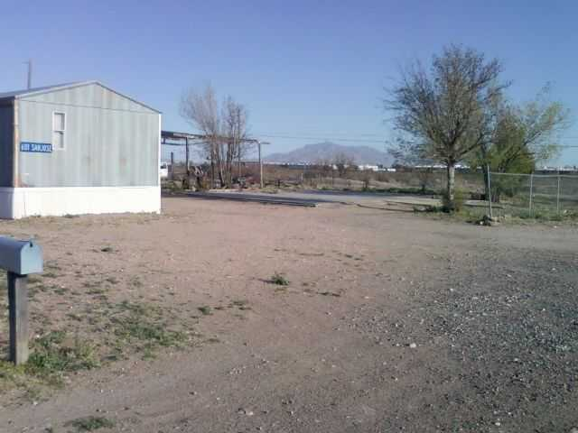 Mobile Home On 4 Lots