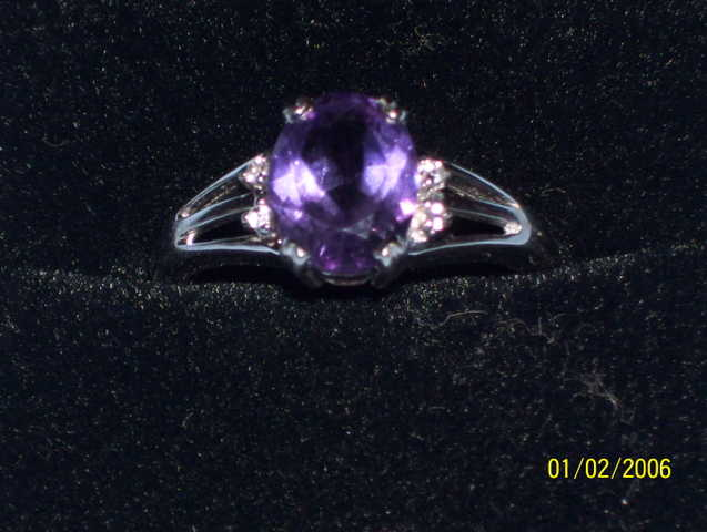 Womens Brithstone Ring