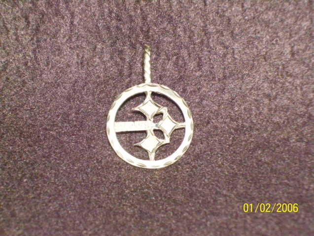 Steelers Pentant 14ct