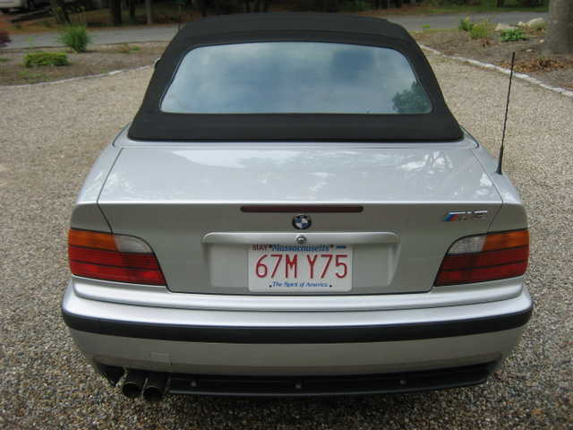 Magnificent 1998 Bmw M3 Convertible / With Only 64.5kmiles For Sale