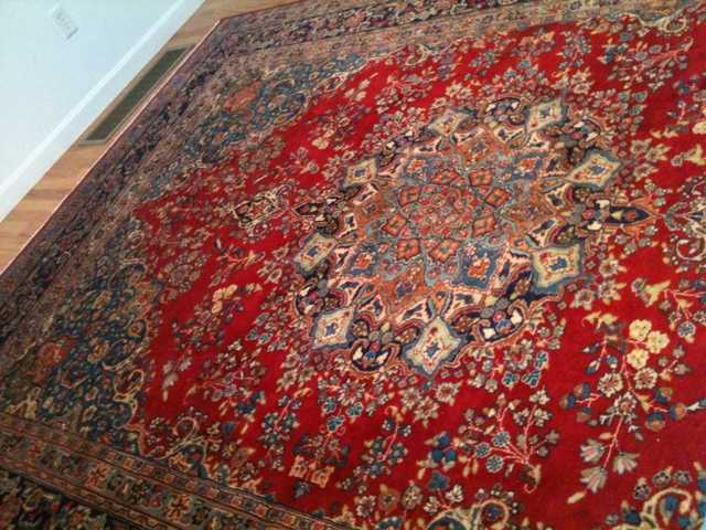 Exquisite Sabzevar Persian Rug / Carpet For An Unbelievable Pri