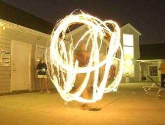 Fire Dancing Entertainment: Aka The Art Of Poi