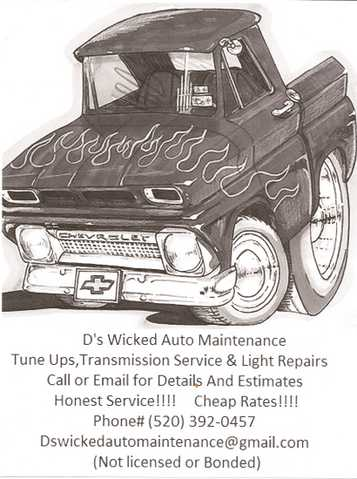 D's Wicked Auto Maintenance