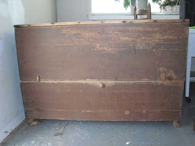 Antique Meal Bin