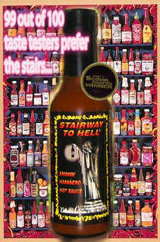 Stairway To Hell Hot Sauce Xxx !