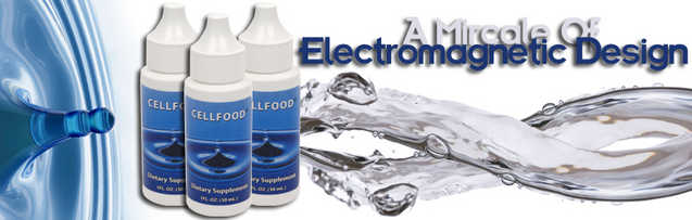 Cellfood! The Miracle Of Electromagnetic Design!