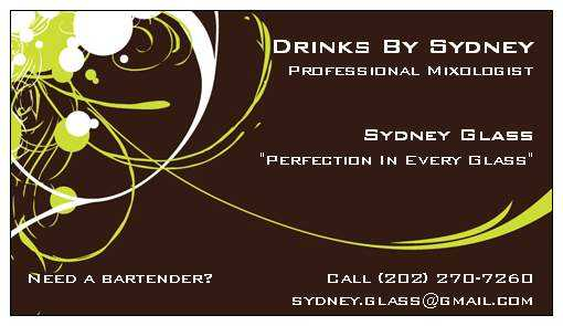 Drinks By Sydney