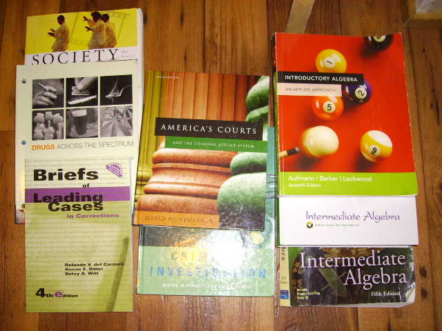 13 College Textbooks - Used @ Ivytech