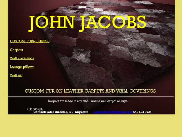 Fur Leather Carpet And Rugs