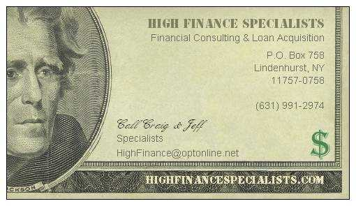 High Finance Specialists