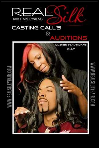 Real Silk Hair Salon - Stylists Auditions