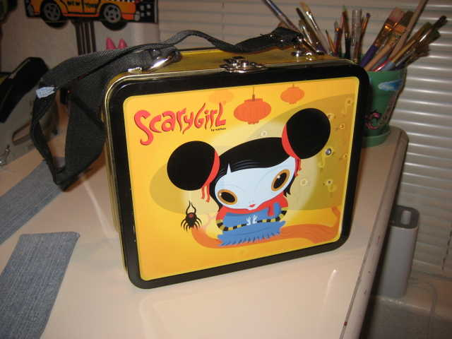 Altered Metal Lunchbox Purses