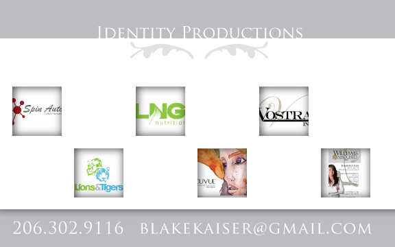 Graphic Design - Identity Productions
