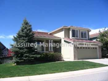 Wonderful 3 Bedroom Home In Highlands Ranch! Great