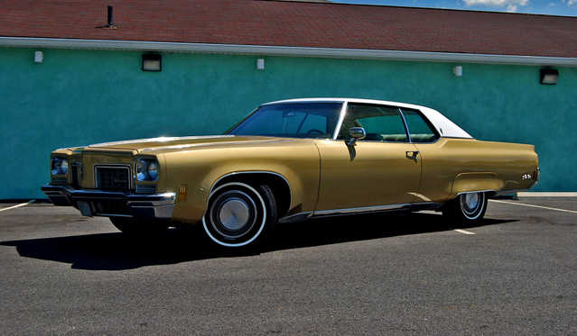 1972 Oldsmobile 98 Rare 2dr Holiday Hardtop