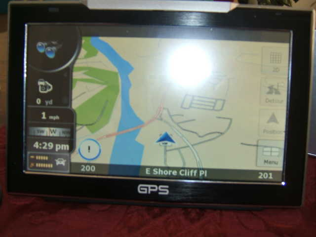 Gps 7' Color Touch Screen $175