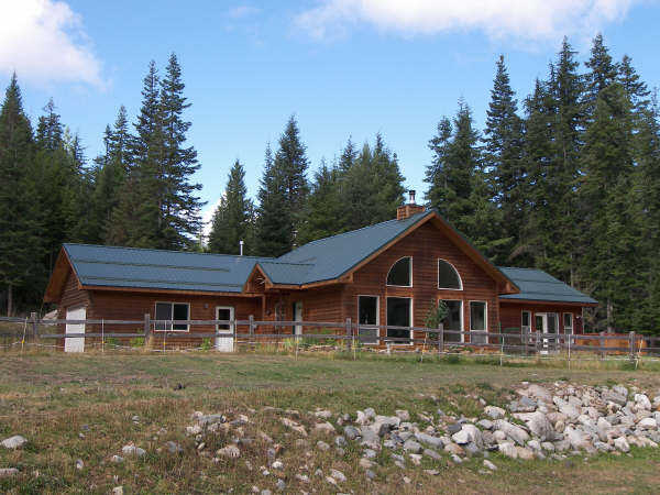 Custom Cedar Home On 21 Acres