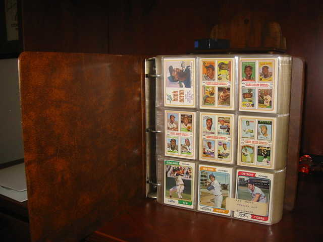 Baseball Card Collection - 1974