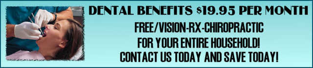 Cost Effective Dental & Medical Plans Available!