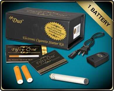 Electronic Cigarette Starter Kit! And Refill Cartridges!