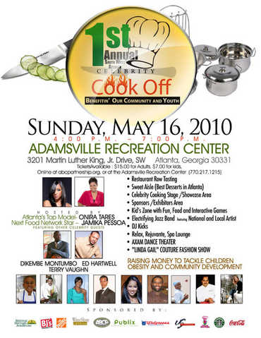 1st Annual Celebrity Cook - Off