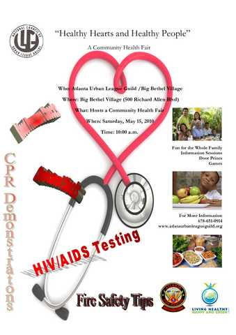 """healthy Hearts And Healthy People"" Community Health Fair"