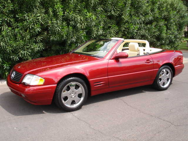 2000 Sl500 Mercedes Roadster - Pristine, Unique Colors, No Accidents