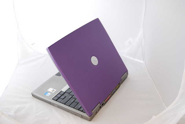 Purple Dell Intel Core Laptop Notebook Wireless Win Xp Office2007
