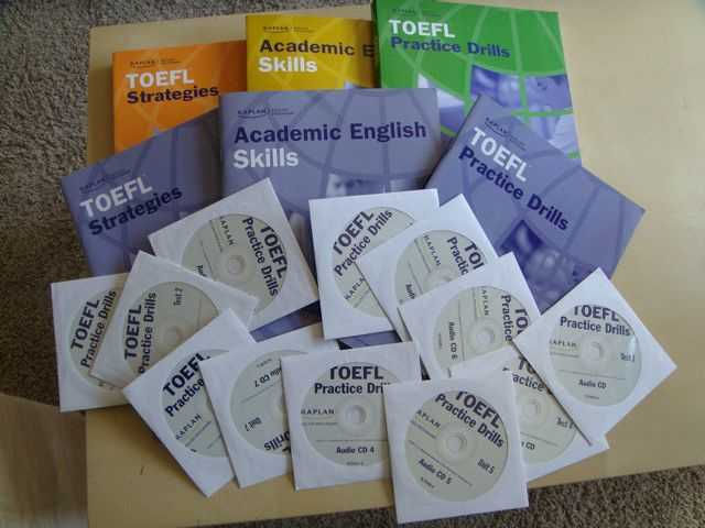 Toefl Ibt Books For Sale