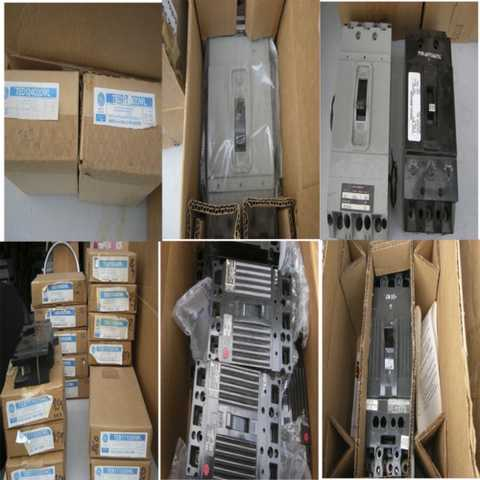 One Lot Of Commercial Circuit Breakers New Surplus