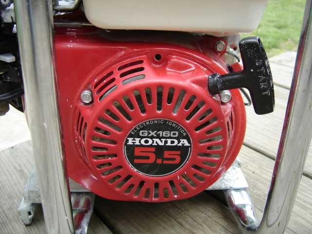 Honda Model Gx 160 5.5 Hp Engine / Motor With Electric Start