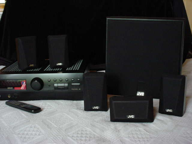 Surround Sound System With Jvc Speakers