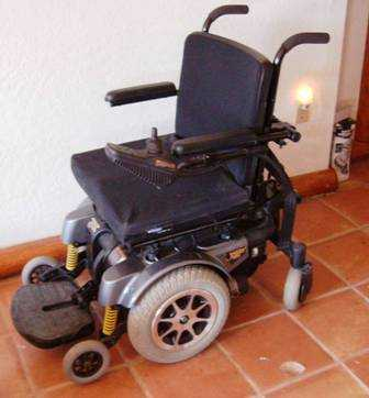 Jazzy 1121 Wheelchair New & Lift Transporter