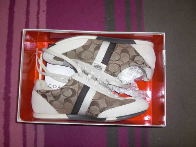 Brand New Signature Coach Sneakers - Brown / Beige